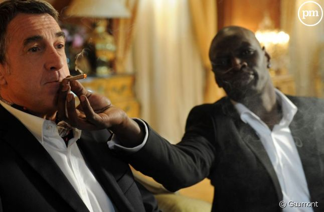 """François Cluzet et Omar Sy dans """"Intouchables"""""""