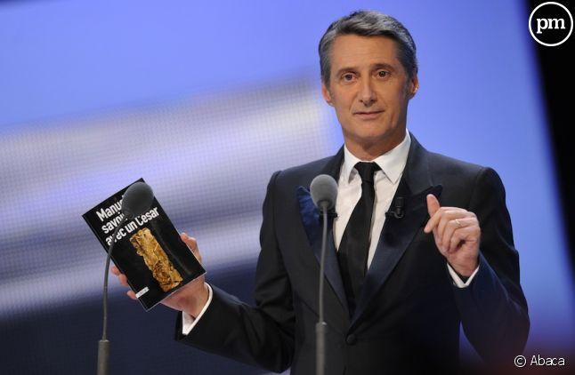 Antoine de Caunes lors des César 2011
