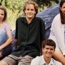 Michelle Williams, James Van Der Beek, Joshua Jackson et Katie Holmes dans Dawson.