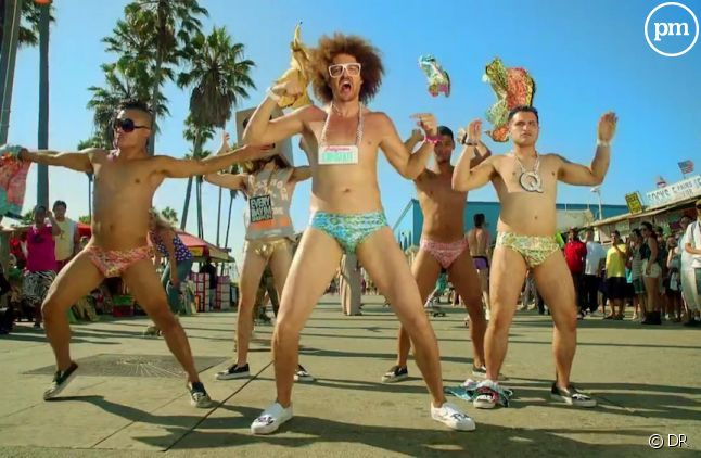 "LMFAO dans le clip ""Sexy and I Know It"""