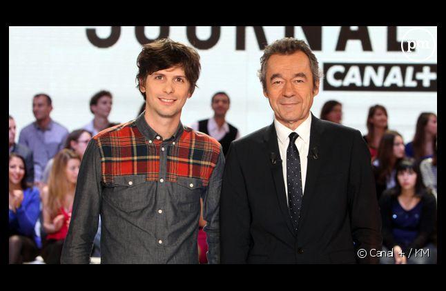 Vincent Glad et Michel Denisot.