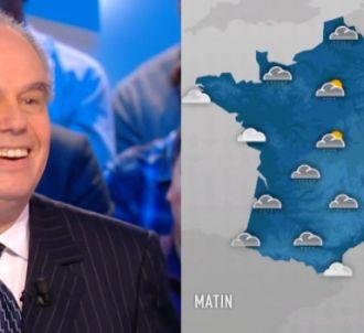 Frédéric Mitterrand 'Miss Météo' sur Canal+