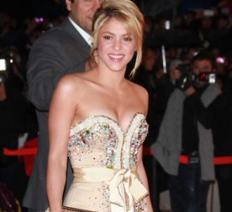Shakira sur le tapis rouge des 'NRJ Music Awards...