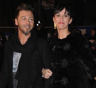 Christophe Maé et sa femme sur le tapis rouge des 'NRJ...