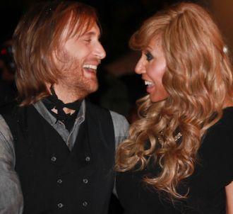 David et Cathy Guetta sur le tapis rouge des 'NRJ Music...