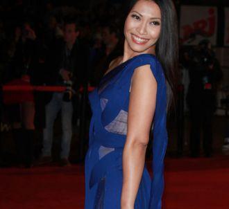 Anggun sur le tapis rouge des 'NRJ Music Awards 2012'.<br />