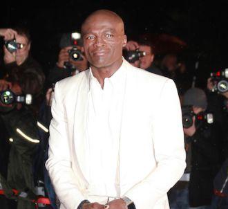 Seal sur le tapis rouge des 'NRJ Music Awards 2012'.<br />