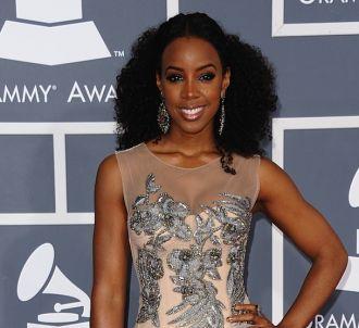 Kelly Rowland sur le tapis rouge des Grammy Awards 2012