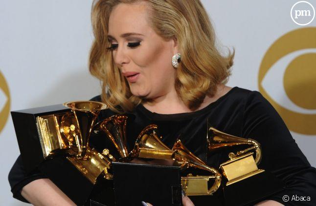 Adele aux Grammy Awards 2012