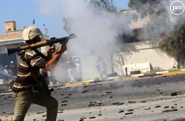 Les combats en Lybie
