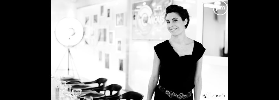 Alessandra Sublet, animatrice sur France 5.
