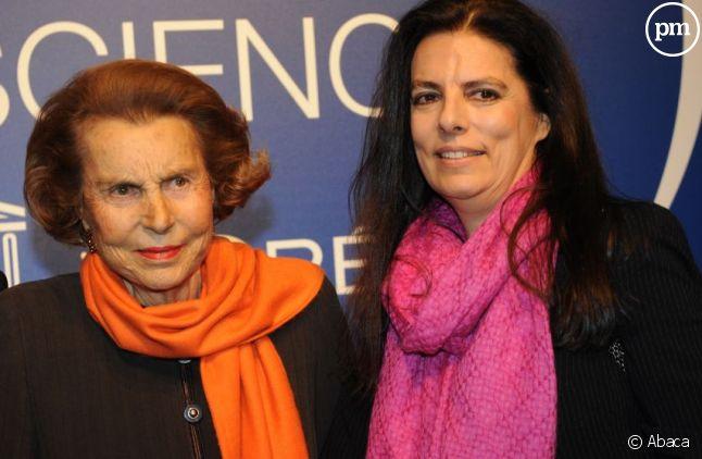 Liliane et Françoise Bettencourt