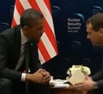 Une conversation off entre Barack Obama et Dimitri...