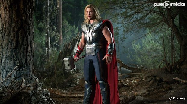 "Chris Hemsworth dans ""Avengers"""