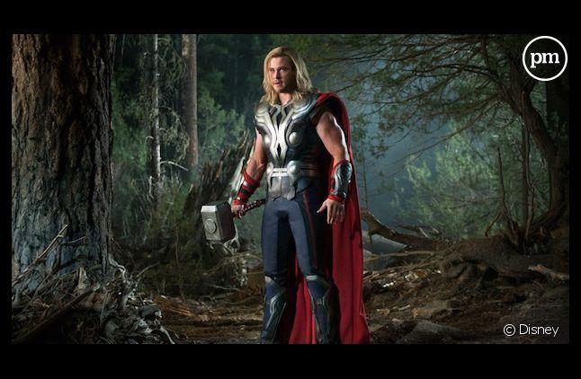 """Chris Hemsworth dans """"Avengers"""""""