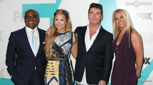 "L.A. Reid, Demi Lovato, Simon Cowell et Britney Spears : le jury de ""The X Factor US"""