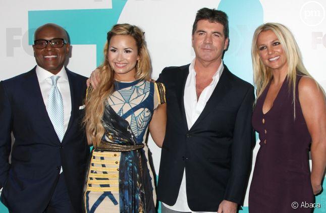 """L.A. Reid, Demi Lovato, Simon Cowell et Britney Spears : le jury de """"The X Factor US"""""""