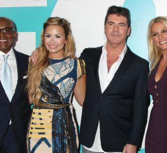 L.A. Reid, Demi Lovato, Simon Cowell et Britney Spears :...