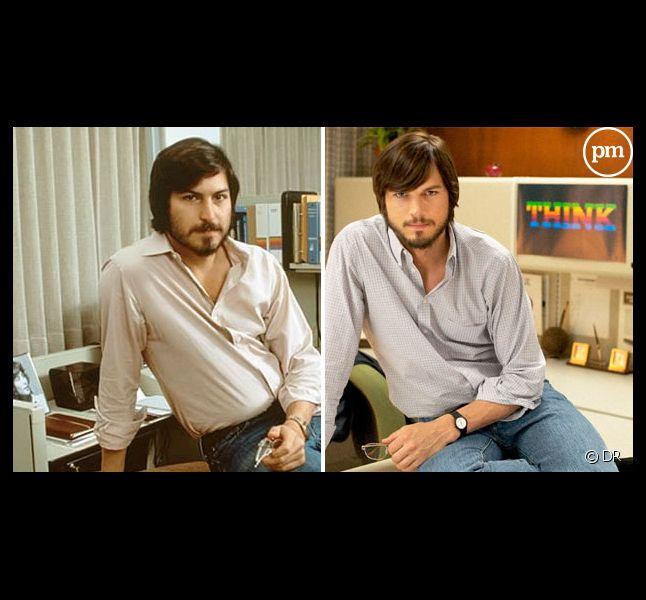 Steve Jobs et Ashton Kutcher