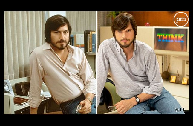 Steve Jobs et Ashton Kutcher