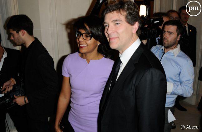 Audrey Pulvar et son compagnon, Arnaud Montebourg.