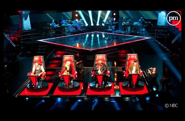 """Le plateau américain de """"The Voice"""""""
