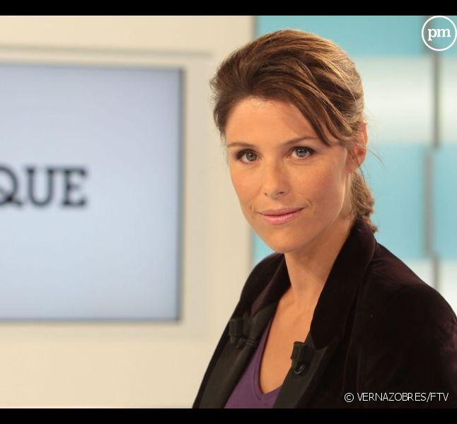 """Géraldine Muhlmann sur le plateau de """"C politique"""""""
