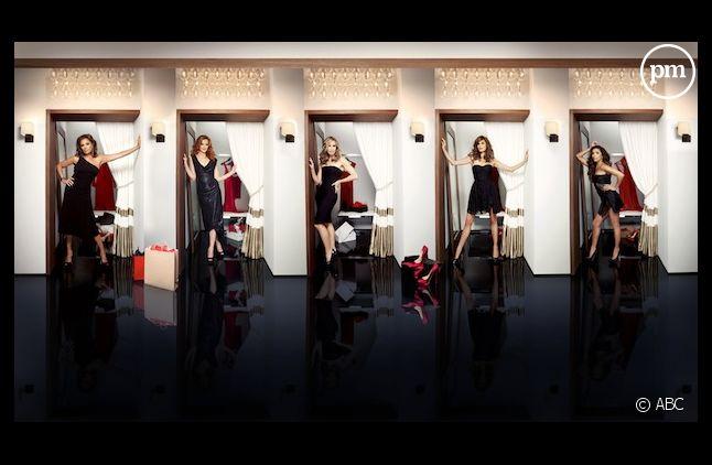 """La dernière saison de """"Desperate Housewives"""" a été doublée en France et en Belgique."""