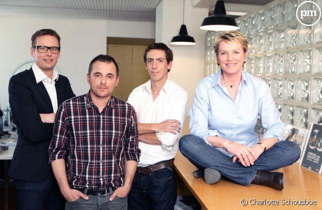 """L'équipe de """"Cash Investigation"""" sur France 2."""