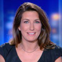 Zapping : Les premiers pas d'Anne-Claire Coudray au JT de TF1