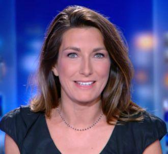 Les premiers pas d'Anne-Claire Coudray au JT de TF1.