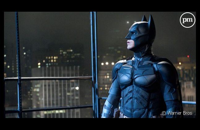 "Christian Bale dans ""The Dark Knight Rises"""