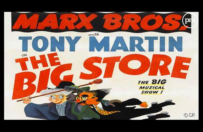 "Affiche du film ""The Big Store"" avec Tony Martin"