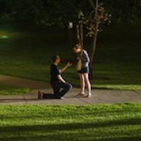 Un couple découvre la photo de sa demande en mariage sur Twitter