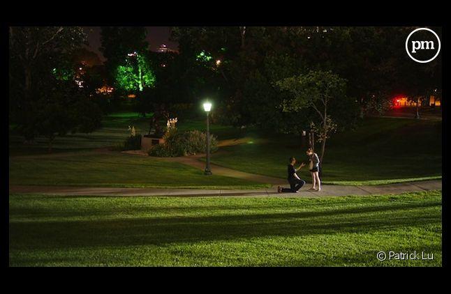 Un jeune couple a découvert la photo de sa demande en mariage sur Internet