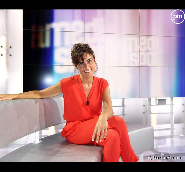 """Nathalie Iannetta prend les commandes de """"La matinale"""" de Canal+ le vendredi."""