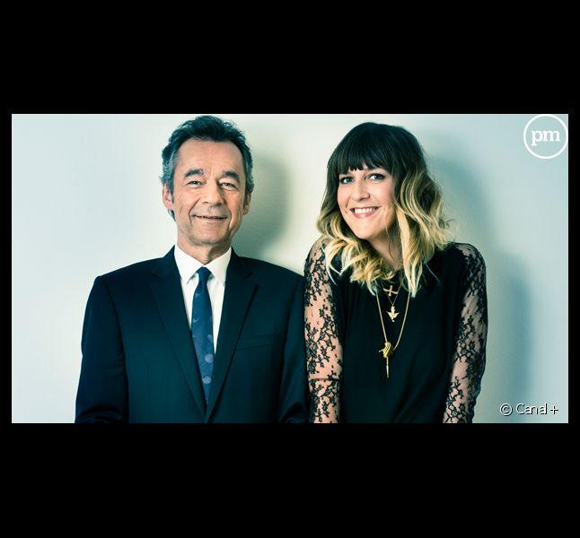 Michel Denisot et Daphné Bürki.