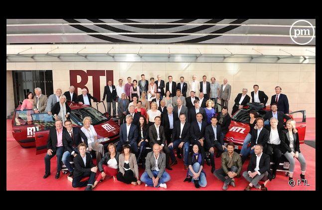 <p>La photo de famille 2012 de RTL.</p>