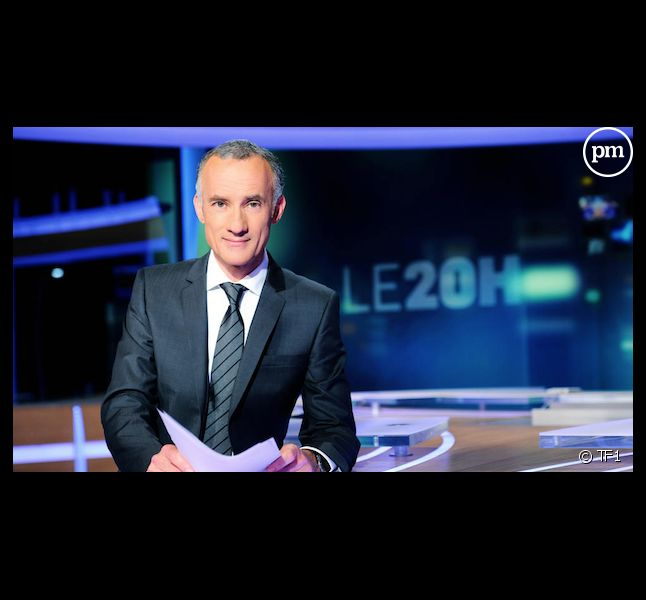 Gilles Bouleau, nouveau présentateur de 20 heures de TF1.