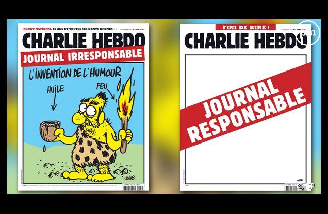 La doublie édition de Charlie Hebdo après la polémique sur les caricatures de Mahomet.