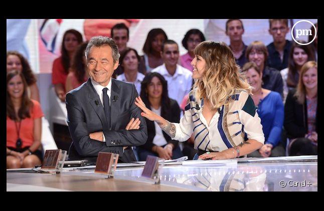 """Daphné Bürki se dit satisfaite de ses débuts au """"Grand Journal de Canal+"""""""