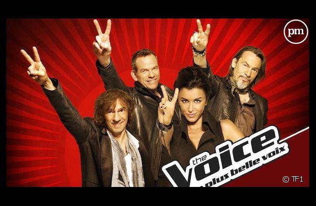 """Le jury de """"The Voice, la plus belle voix"""""""