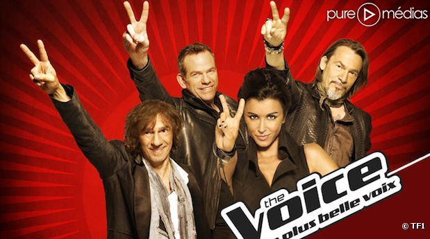 "Le jury de ""The Voice, la plus belle voix"""