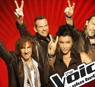 Le jury de 'The Voice, la plus belle voix'