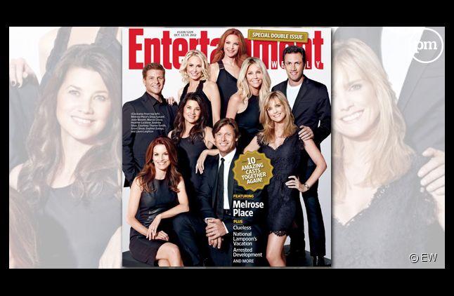 """Les acteurs de """"Melrose Place"""" se retrouvent en couverture d'Entertainment Weekly"""
