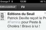 Le prix Fémina révélé avant l'heure sur Twitter