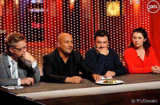 """Le jury de """"Masterchef"""" et Anne pour la finale de la saison 3"""