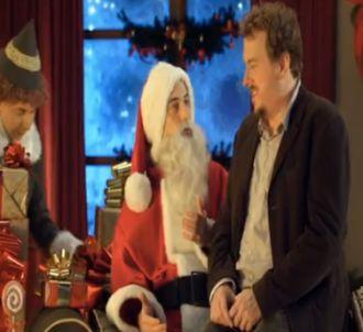 Pub Canal+ : Le Père-Noël et le nounours