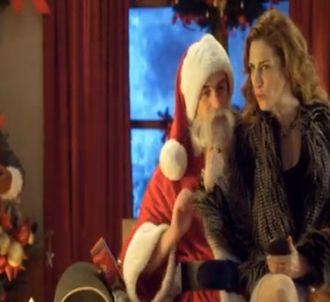 Pub Canal+ : Le Père-Noël et la cougar