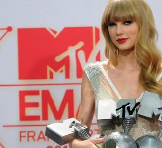 Taylor Swift aux MTV Europe Music Awards 2012